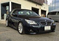 【大切にしている日】 BMW E60 5シリーズ ナビ取付&ユピテルレーダー取付♪       兵庫県神戸市・姫路・加古川・明石